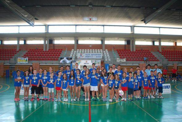 Fin de curso de las Escuelas Deportivas Municipales de Xàbia