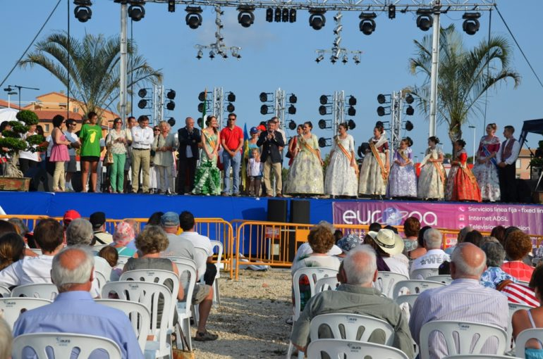 José Chulvi inaugurando el Festival Internacional de Jávea 2014