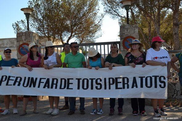 José Chulvi mostró su apoyo al acto