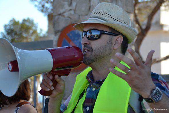 José Miguel Marí uno de los organizadores del acto