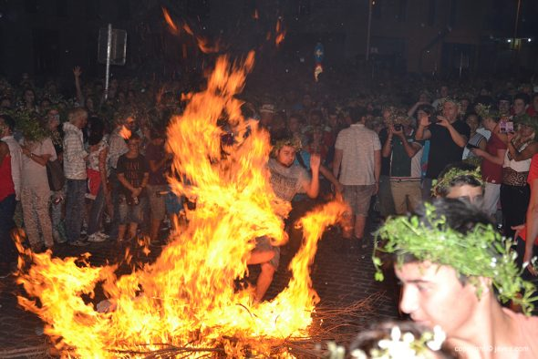 Las llamas purificadoras