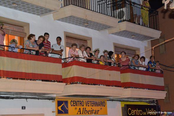 Los balcones también estuvieron llenos de público