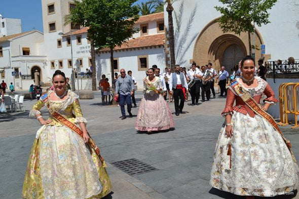 Lucía Catalá con Andrea Sanz y Ana Bisquert