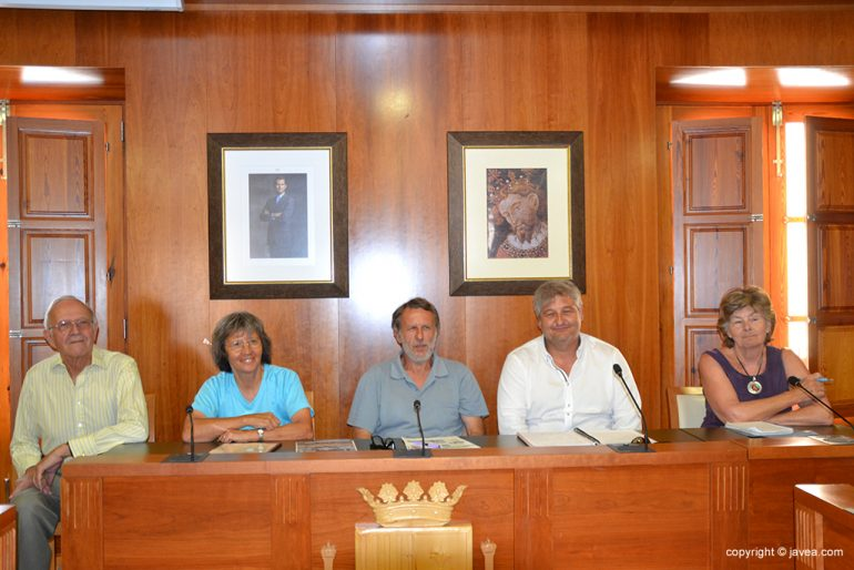 Presentación de la exposición Los Castillos Andalusies en la Marina Alta.