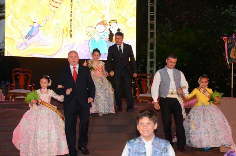 Proclamación reina infantil Fogueres 2014
