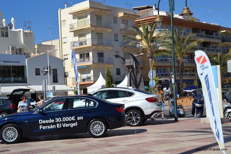 Puesto de coches del Festival La Mar Salá