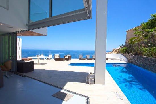 El alquiler del mes en aguila rent a villa una villa de for Casa moderna javea
