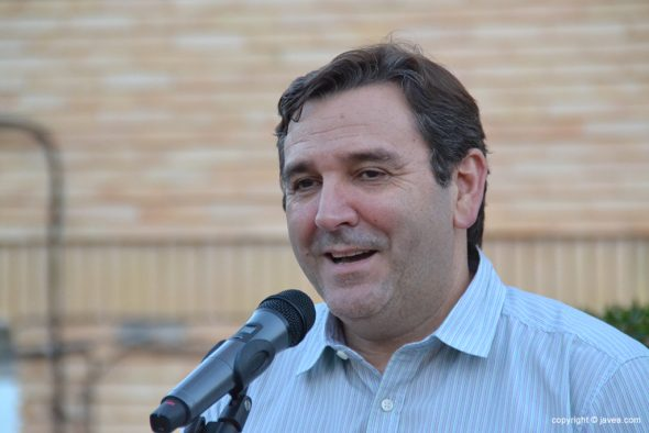 Antonio Miragall durante su discurso