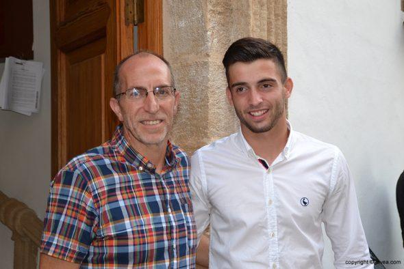 Antonio Sivera con Vicent Colomer