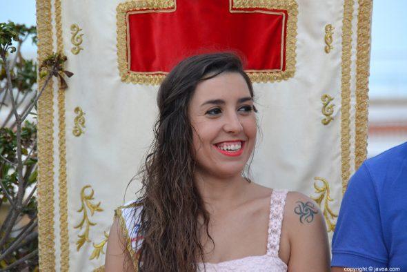 Beatriz Díaz abanderada cristiana 2015