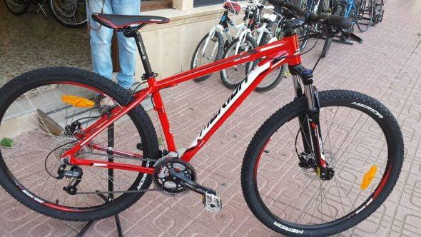 Bicicleta promoción Gurugú