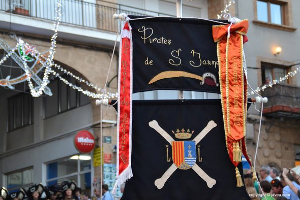 Filà Pirates de San Jaume Estandarte
