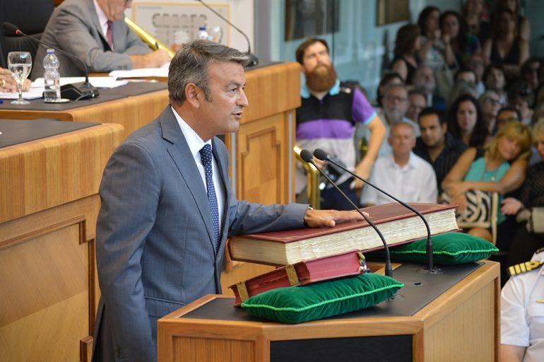José Chulvi en el pleno de la Diputación