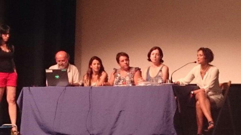 Montse Villaverde en la jornada de Almussafes
