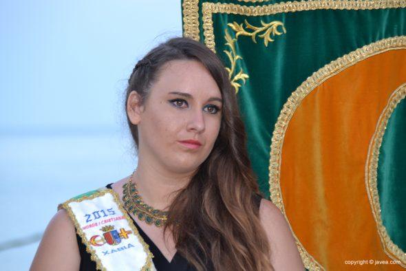 Noelia Vives abanderada moro 2015