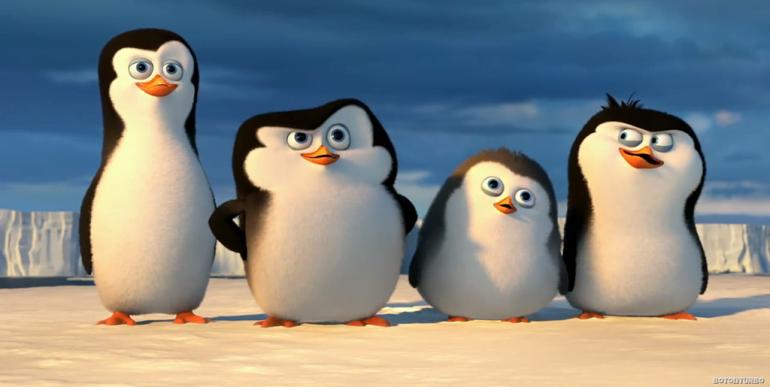 Pingüinos de Madagascar