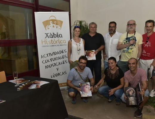 Quico Moragues y Cesc Camprubi, en la presentación de la revista Town