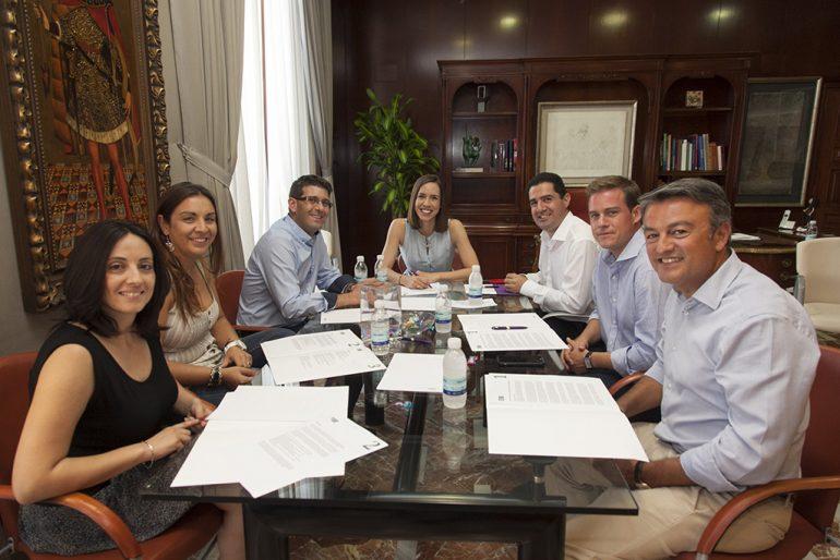 Reunión de alcaldes de la Alianza de las Comarcas Centrales