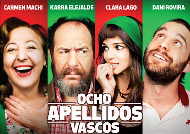 cartel de la película Ocho Apellidos Vascos