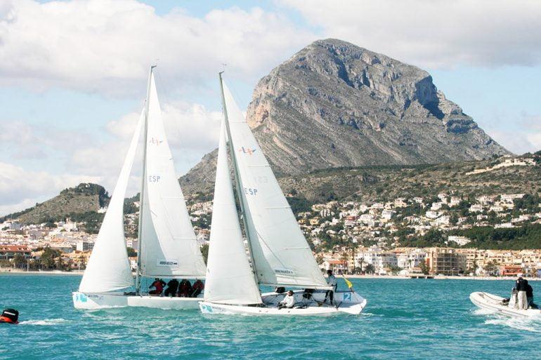 Barcos en el Trofeo Sir Lipton