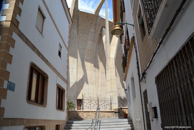 Calle Churruca donde Iberdrola acometerá sus obras de mejora