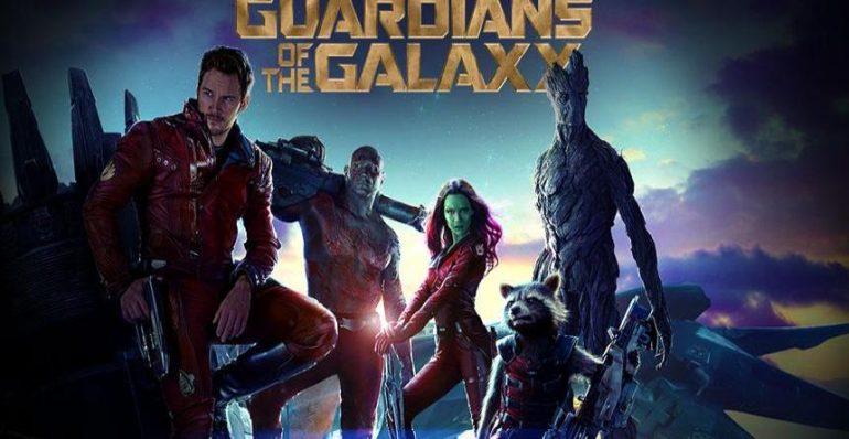 Cartel de Los Guardianes de la Galaxia