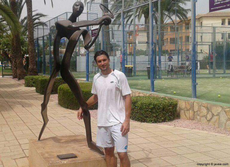David Ferrer en Xàbia