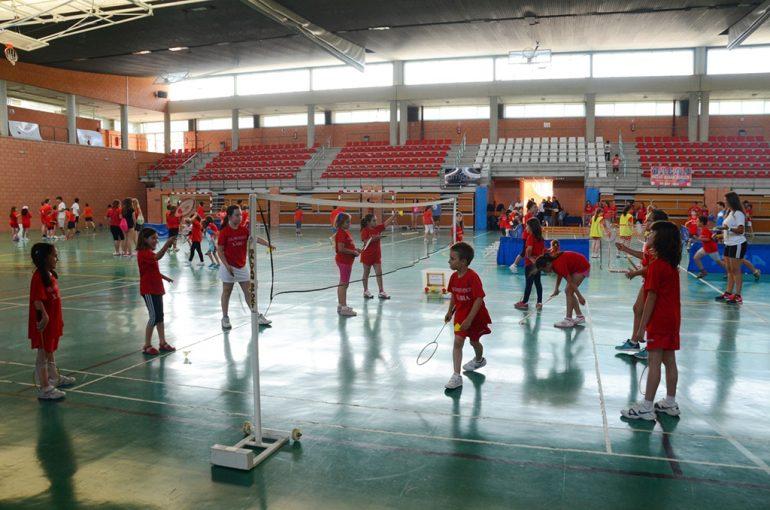 Escuela municipal de badmiton en Xàbia