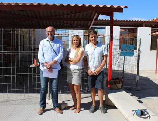 Josep Femenia junto a Myra van 't Hoff