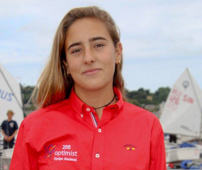 Julia Miñana campeona de Europa de Optimits