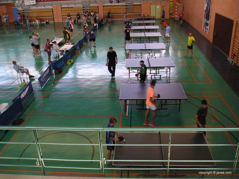 Torneo de Tenis de Mesa en Jávea