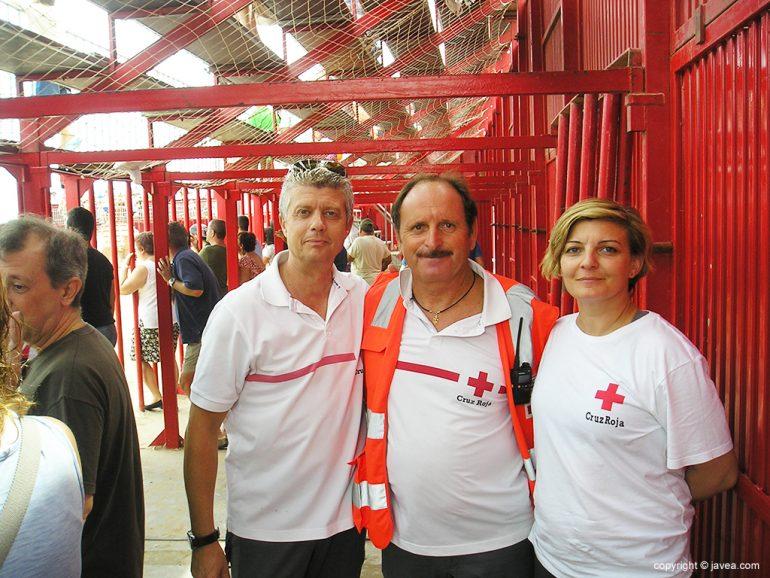 Cruz Roja en el recinto taurino