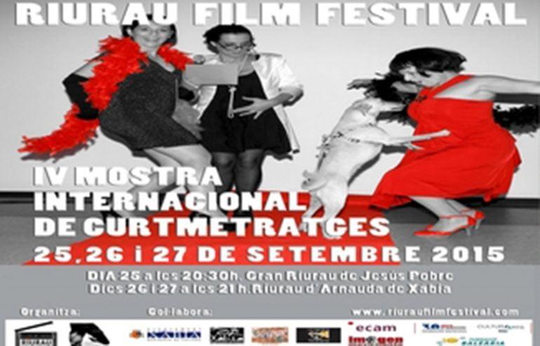 Cartel de I Maratò Curts Riurau Film Festival