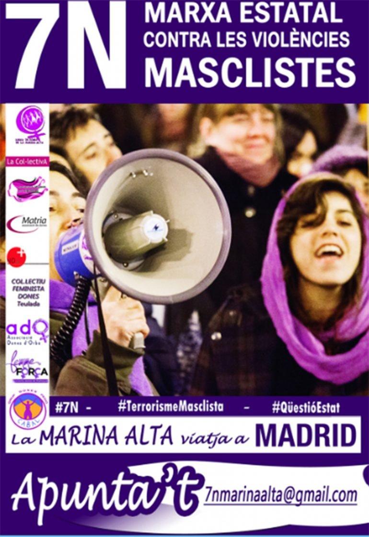 Cartel de la Marcha 7N