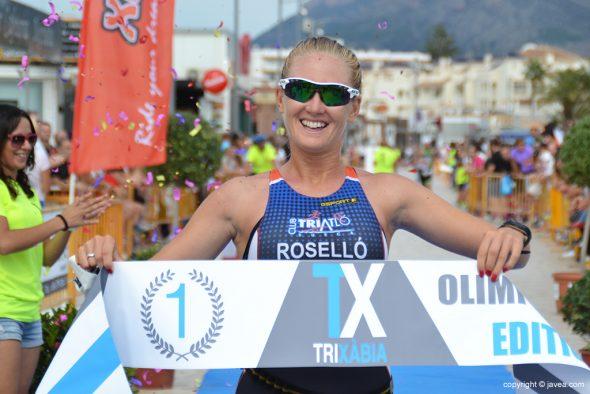 Cristina Roselló vencendora Olímpica
