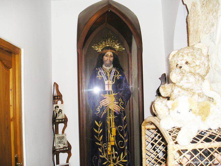 Imagen del Cristo de Medinaceli