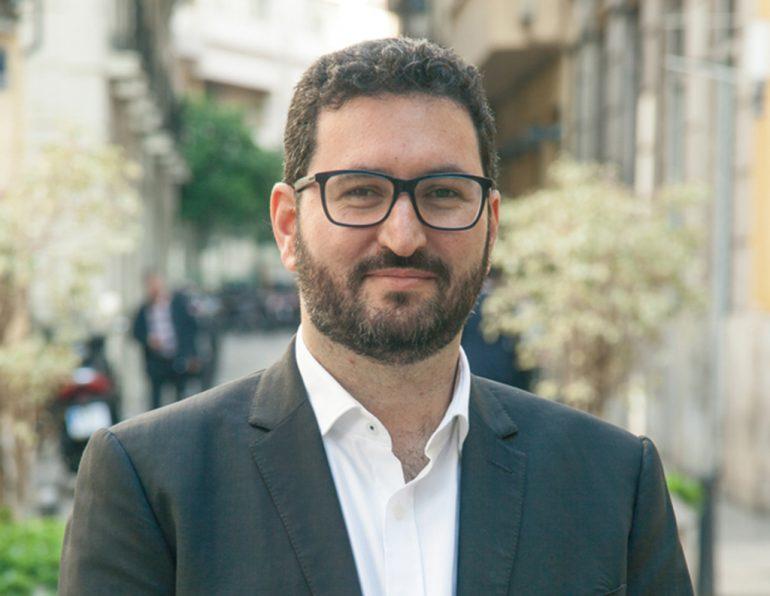 David Torres diputado de Podemos