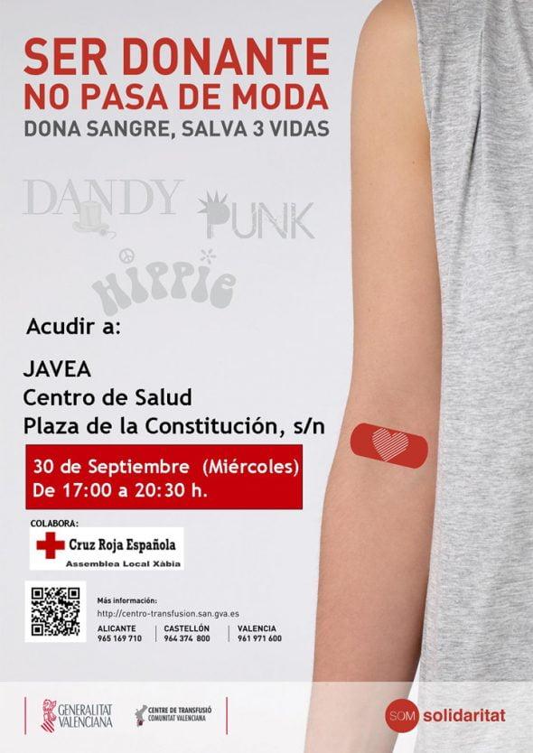 Donación de Sangre en Xàbia