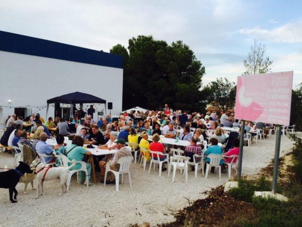 Fiesta del verano de los Bomberos Voluntarios de Poble Nou de Benitatxell