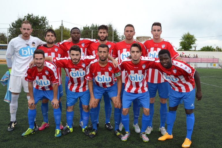 Once del CD. Jávea ante el CD. Dénia