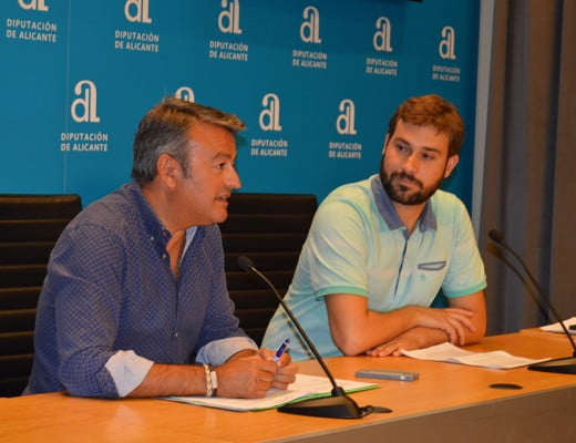 José Chulvi junto a Gerard Fullana