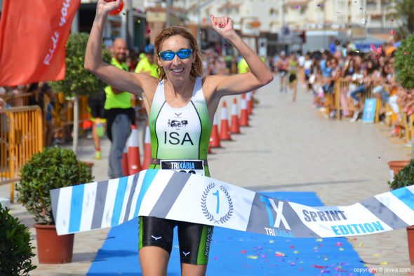 Mª Isabel Ferrer vencedora Sprint