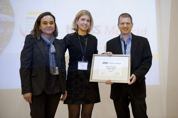 Patricia Marzal, Christina Roosen y Vicent Moncho