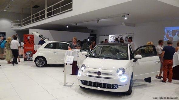 Presentación Fiat 500