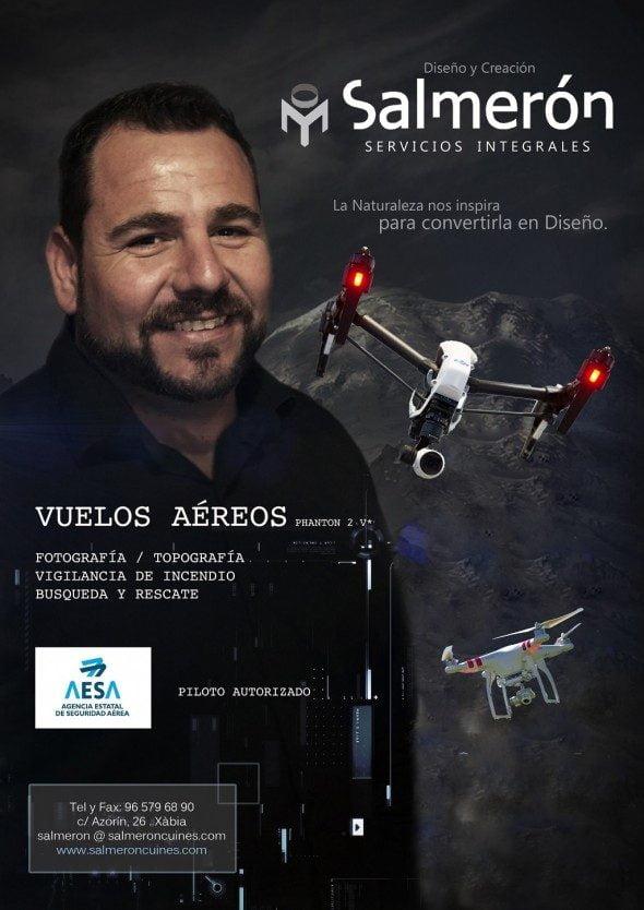 Salmerón dron