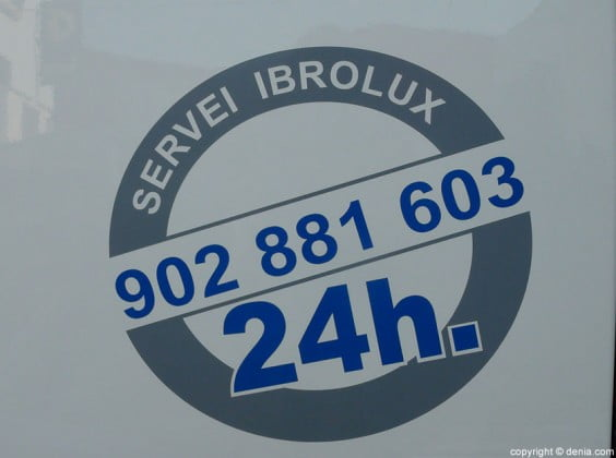 Servicio 24 horas Ibrolux