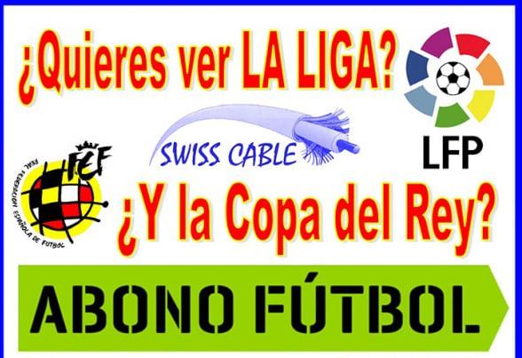 Abono fútbol cartel