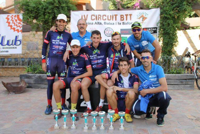Ciclistas destacados del Portal de la Marina-Xàbia' s Bike