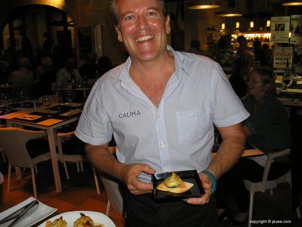 """Claudio del Rte. Calima ganador de la """"IV La Mar de Tapas"""""""