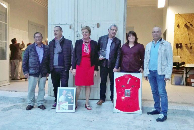Delegación xabiera que visitó Thiviers